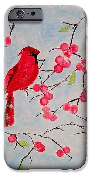 Snowy Day iPhone Cases - Winter Magic iPhone Case by Sonali Gangane