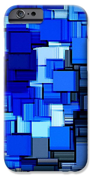 Winter Modern Abstract XIX iPhone Case by Lourry Legarde