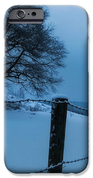 WInter Moon iPhone Case by Bill  Wakeley