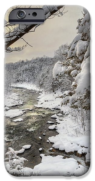 Winter Morning iPhone Case by Bill  Wakeley