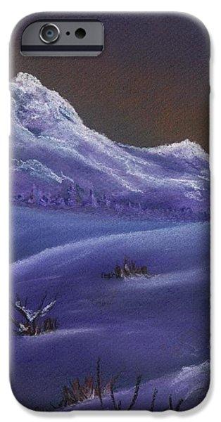 Winter Night iPhone Case by Anastasiya Malakhova