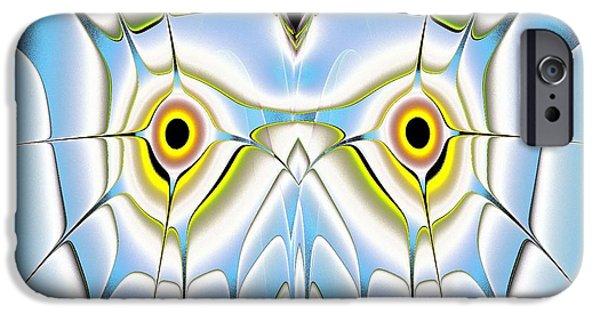 Series iPhone Cases - Winter Owl iPhone Case by Anastasiya Malakhova