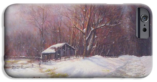 Best Sellers -  - Shed Pastels iPhone Cases - Winter Palette iPhone Case by Howard Scherer