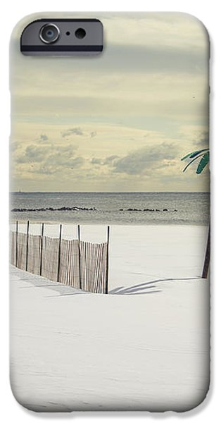 Winter Paradise iPhone Case by Evelina Kremsdorf