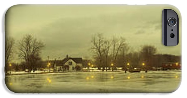 Covered Bridge iPhone Cases - Winter Park iPhone Case by Michael Rucker