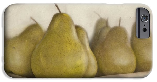Pears iPhone Cases - Winter pears iPhone Case by Cindy Garber Iverson