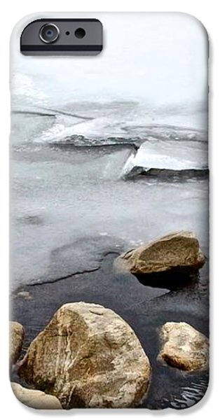 Winter Quabbin iPhone Case by Randi Shenkman