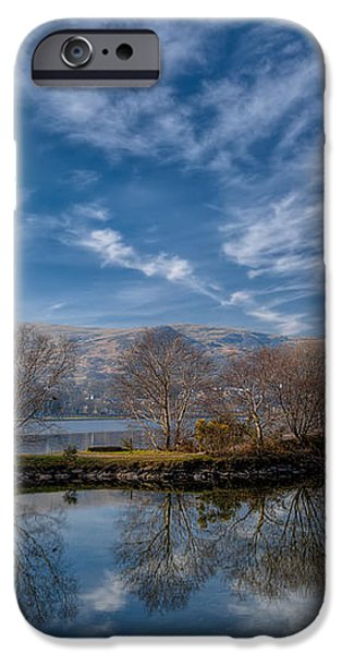 Winter Reflections iPhone Case by Adrian Evans
