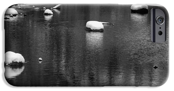 Comfortable Art iPhone Cases - Winter River iPhone Case by Dan Sproul