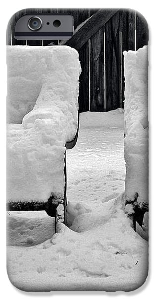 Winter Romance iPhone Case by Christine Till