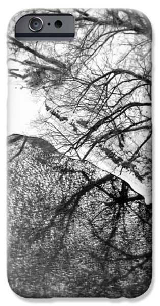Wintertime iPhone Cases - Winter Shadows iPhone Case by Valentino Visentini