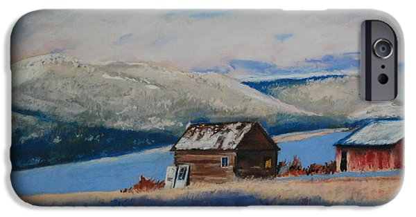 Best Sellers -  - Shed Pastels iPhone Cases - Winter Sheds iPhone Case by Tom Garfield