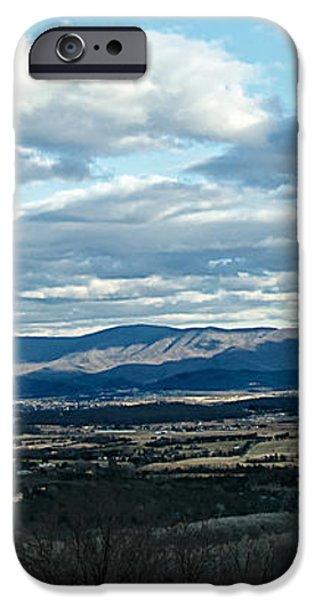 Winter Shenandoah River View iPhone Case by Lara Ellis