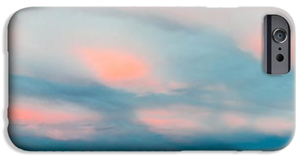 Wintertime iPhone Cases - Winter Sky over Lake Laberge iPhone Case by Stephan Pietzko
