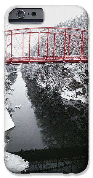 Winter Solitude Square iPhone Case by Bill  Wakeley