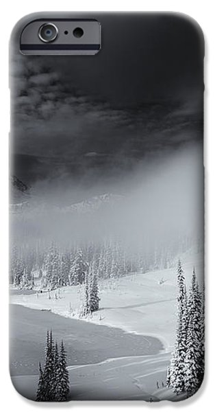 Winter Storm Clears iPhone Case by Mike  Dawson