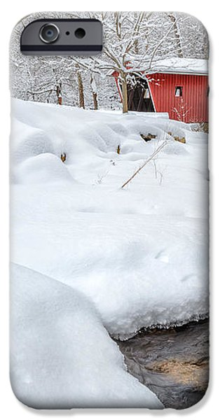 Winter Stream iPhone Case by Bill  Wakeley