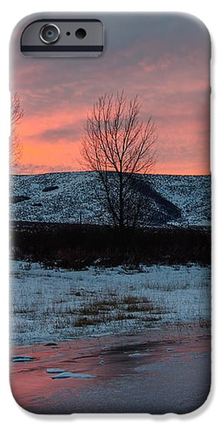 Winter Sunrise iPhone Case by Chad Dutson