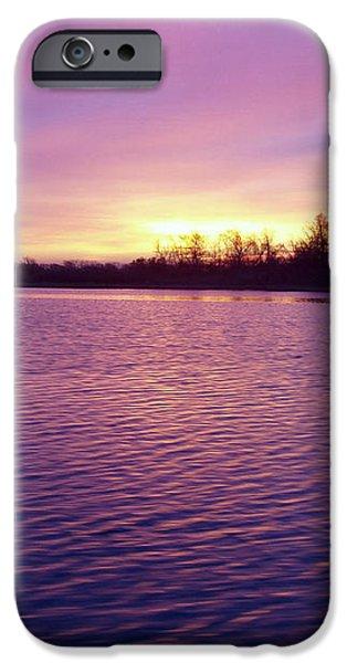 Winter Sunrise iPhone Case by JOHN TELFER