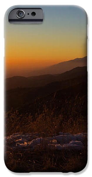 Winter Sunset iPhone Case by Heidi Smith