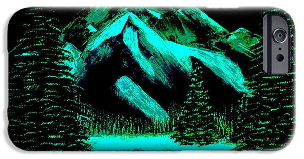 Wintertime iPhone Cases - Winter iPhone Case by Tim Townsend
