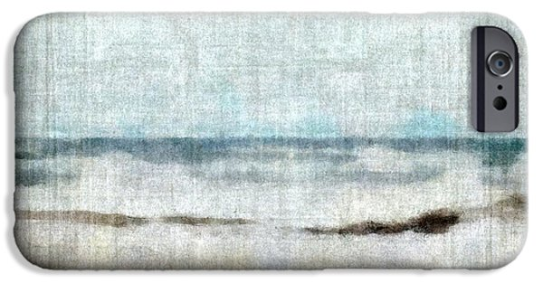 Recently Sold -  - Wintertime iPhone Cases - Winter Waves iPhone Case by Michelle Calkins