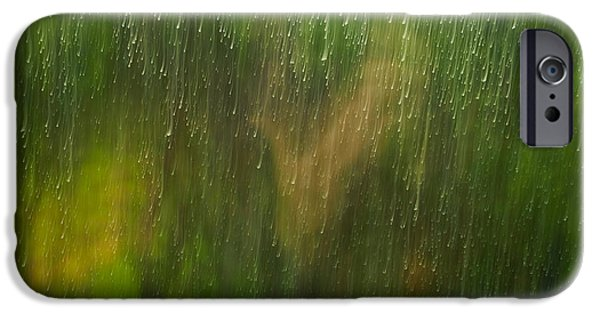 Painter Photographs iPhone Cases - Winter Window Scene iPhone Case by Marco Oliveira