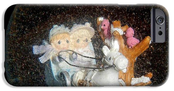 Winter Scene iPhone Cases - Winter Wonderland iPhone Case by Betty-Anne McDonald