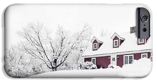 Winter Storm iPhone Cases - Winter Wonderland iPhone Case by Edward Fielding