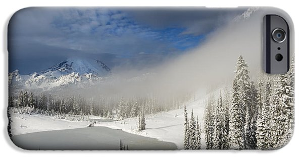 Winter iPhone Cases - Winter Wonderland iPhone Case by Mike  Dawson