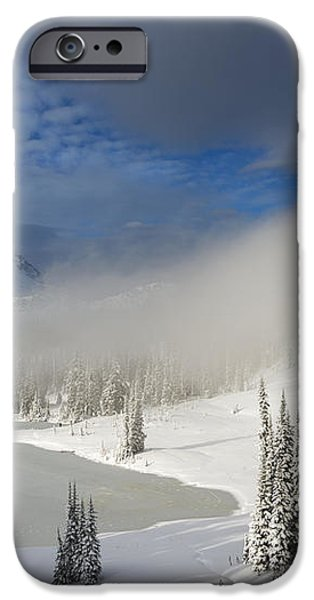 Winter Wonderland iPhone Case by Mike  Dawson