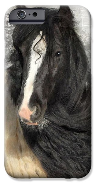 Gypsy Digital iPhone Cases - Winter Woolies iPhone Case by Fran J Scott