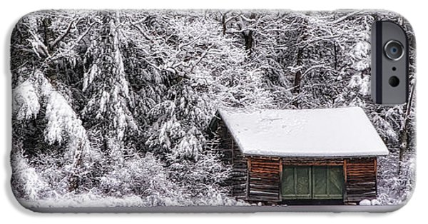 Mt Chocorua iPhone Cases - Winterized iPhone Case by Scott Thorp