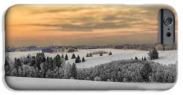 Snowy Day iPhone Cases - Winterland iPhone Case by Erik Brede