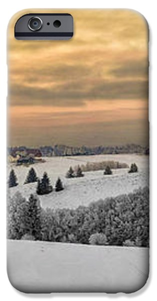 Winterland iPhone Case by Erik Brede