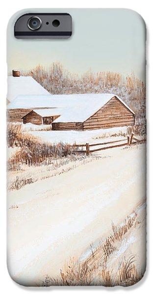 Winterness iPhone Case by Michelle Wiarda