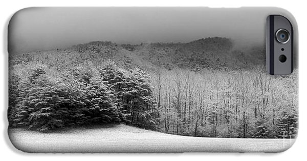 Winter Scene iPhone Cases - Winters Embrace iPhone Case by Michael Eingle