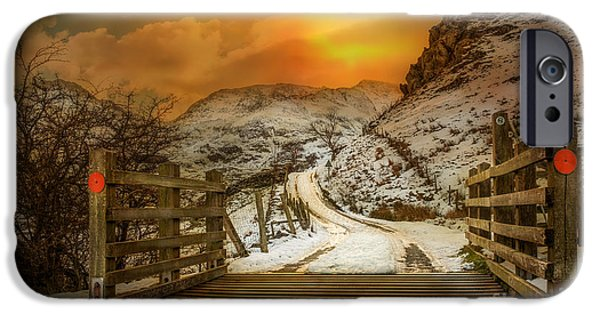 Frozen iPhone Cases - Winters Gate iPhone Case by Adrian Evans