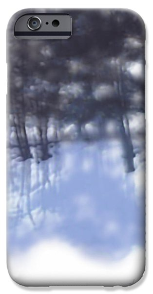 Airbrush iPhone Cases - Winters Shadow iPhone Case by Kume Bryant