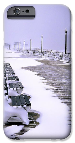 Winter Storm iPhone Cases - Winters Silence iPhone Case by William Walker