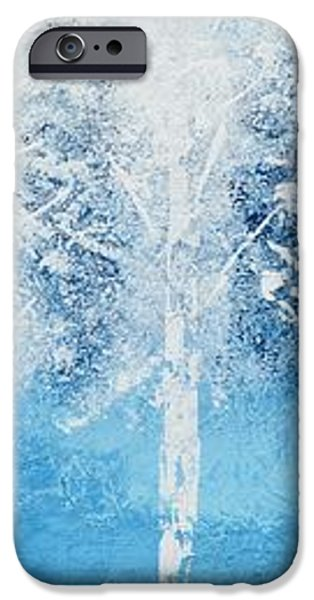 Wintry Mix iPhone Case by Linda Bailey