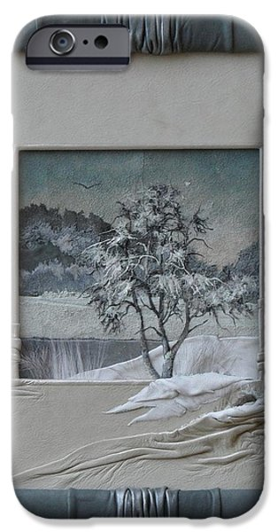 Wintry Morning iPhone Case by Yakubouskaya Olga