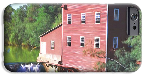 Grist Mill iPhone Cases - Wisconsin Mill iPhone Case by Steve Bailey