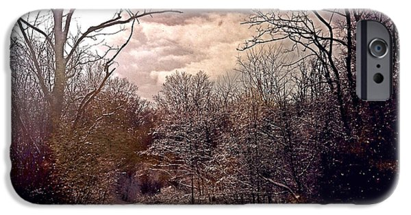 Recently Sold -  - Cathedral Rock iPhone Cases - Wisconsin Winter iPhone Case by Gregg Jabs