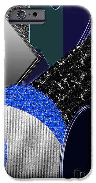 Abstract Forms iPhone Cases - Wise Bestowment iPhone Case by Tina M Wenger