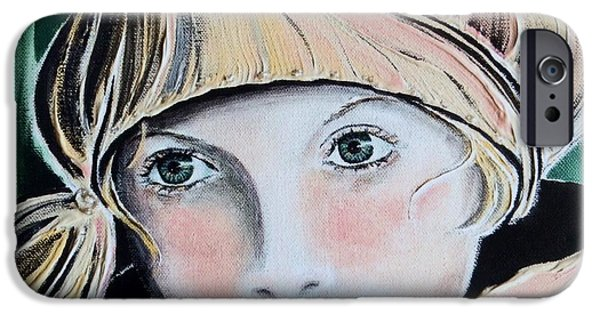 Missing Child iPhone Cases - Wistful iPhone Case by Barbara Chase