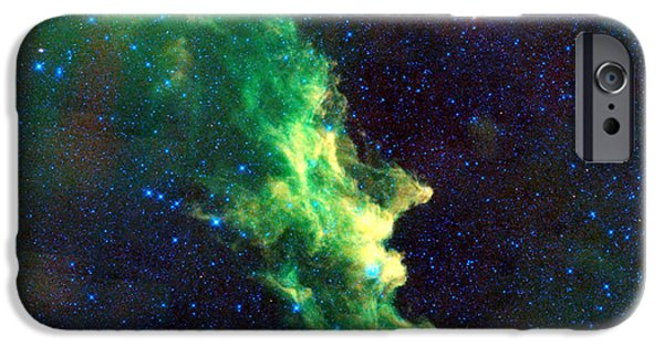 Neutron iPhone Cases - Witch Head Nebula iPhone Case by Nomad Art And  Design