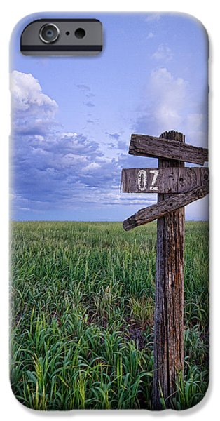 Field. Cloud iPhone Cases - Witch Way to OZ iPhone Case by James BO  Insogna