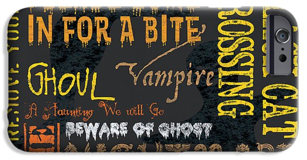 Ghoul iPhone Cases - Witchcraft iPhone Case by Debbie DeWitt