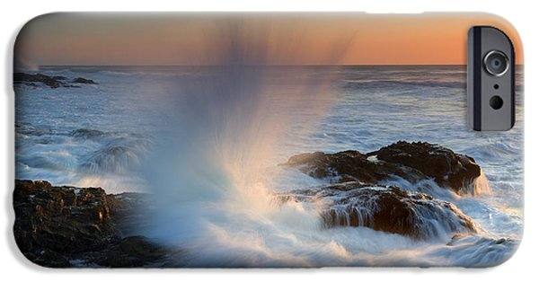 Splash iPhone Cases - With Force iPhone Case by Mike  Dawson